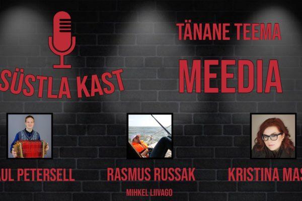 Podcast nr 1 Süstlakast - Meediasüst