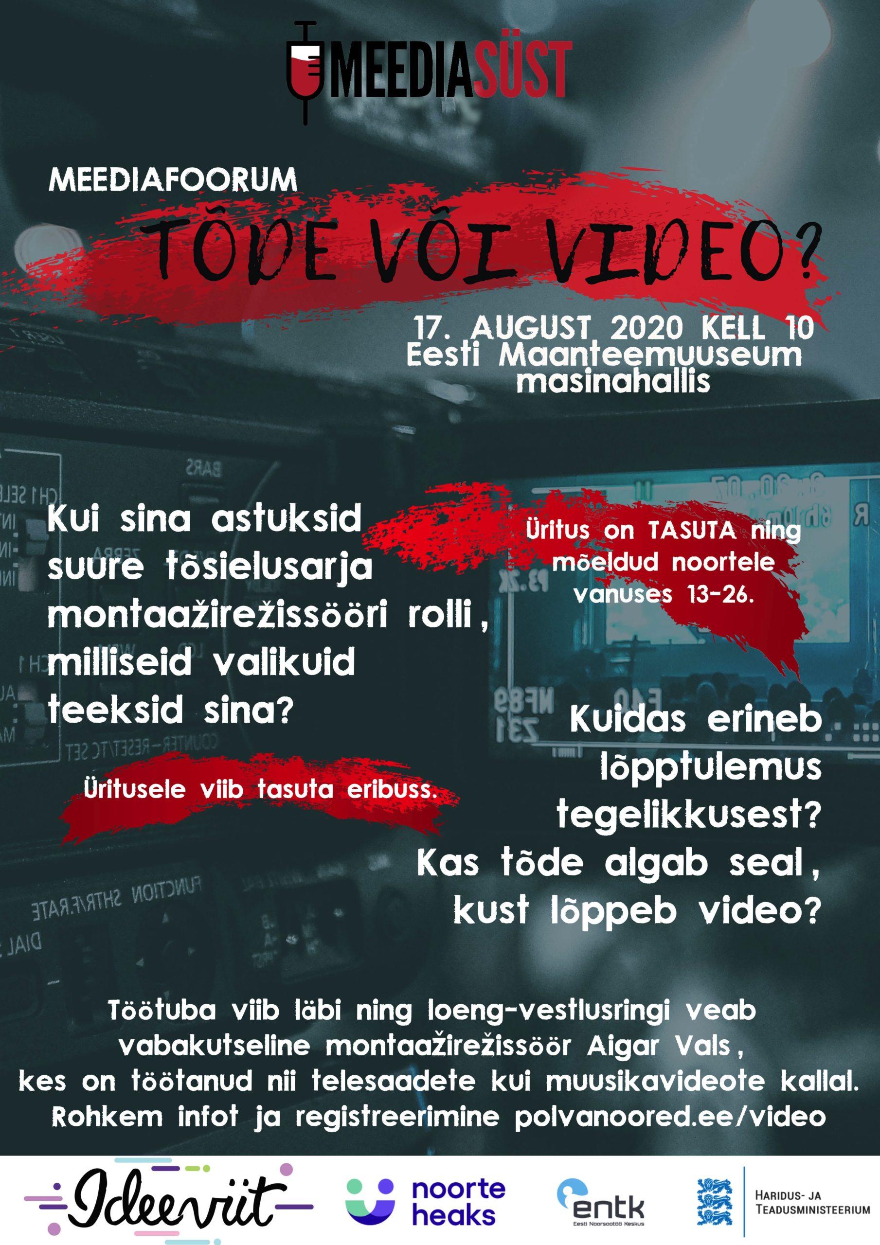 Meediafoorum Tõde või video - Meediasüst